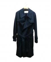 tsumori chisato(ツモリチサト)の古着「ニューセームギャバコート」|ネイビー