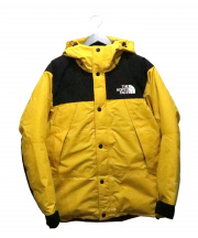 THE NORTH FACE(ザノースフェイス)の古着「Mountain Down Jacket」|イエロー×ブラック