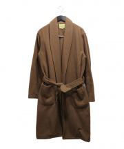 DE BONNE FACTURE(デボンファクチュール)の古着「Bathrobe Coat」|ベージュ