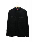 COMME des GARCONS HOMME(コムデギャルソンオム)の古着「ダブルジャケット」 ブラック
