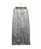 ELENDEEK(エレンディーク)の古着「デニムスカート」|スカイブルー