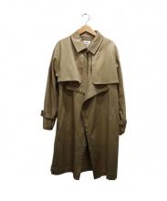 OPENING CEREMONY(オープニングセレモニー)の古着「ステンカラーコート」 ベージュ