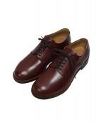 whiteland Blackburn(ホワイトランドブラックバーン)の古着「Plain Leather Shoose」|ブラウン