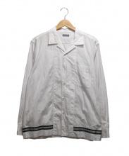COMME des GARCONS HOMME(コムデギャルソンオム)の古着「オープンカラーシャツ」|ホワイト