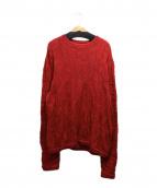 coogi(クージー)の古着「ニット」|レッド