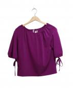 REJINA PYO(レジーナ・ピョウ)の古着「dana bow detail blouse」|パープル