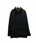 DCBA BY SON OF THE CHEESE(ディーシービーエー バイ サノバチーズ)の古着「BALMACAAN COAT」|ブラック