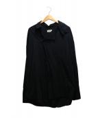 BED J.W FORD(ベッドフォード)の古着「プルオーバーシャツ」|ブラック