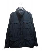 HERNO(ヘルノ)の古着「M65ダウンジャケット」 ネイビー