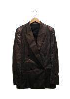 Paul Smith(ポールスミス)の古着「リネンダブルセットアップスーツ」|ブラウン