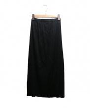 PLEATS PLEASE(プリーツ プリーズ)の古着「プリーツマキシスカート」|ブラック