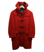 GLOVER ALL(グローバーオール)の古着「ロングダッフルコート」|レッド