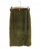 CELINE(セリーヌ)の古着「レザースカート」
