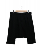 BLACK COMME des GARCONS(ブラックコムデギャルソン)の古着「ウールサルエルパンツ」 ブラック