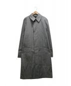 LOUIS VUITTON(ルイ・ヴィトン)の古着「ステンカラーコート」|グレー