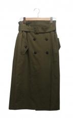 dessin de mode(デッサンデモード)の古着「トレンチスカート」