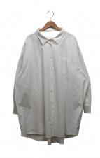 ERIKA CAVALLINI semi-couture(エリカ カヴァリーニセミクチュール)の古着「シャツワンピース」|ホワイト