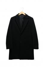 JOURNAL STANDARD(ジャーナルスタンダード)の古着「チェスターコート」|ブラック