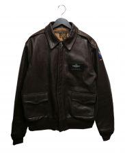 MORGAN(モーガン)の古着「A-2フライトジャケット」