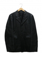 COMME des GARCONS HommePlus(コムデギャルソンオムプリュス)の古着「デザインFレザージャケット」