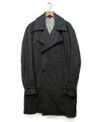 BARENA(バレナ)の古着「ロングウールトレンチコート」|グレー
