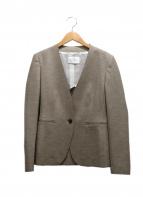 BEIGE(ベイジ)の古着「ノーカラージャケット」