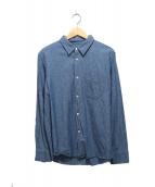 A.P.C.(アーペーセー)の古着「シャンブレーシャツ」