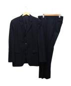 Calvin Klein(カルバンクライン)の古着「ストライプセットアップスーツ」