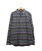 NIGEL CABOURN(ナイジェルケーボン)の古着「ボーダーシャツ」