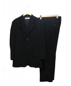 ISSEY MIYAKE MEN(イッセイ ミヤケ メン)の古着「セットアップスーツ」|ブラック