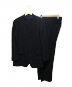ISSEY MIYAKE MEN(イッセイ ミヤケ メン)の古着「デザインセットアップスーツ」|ブラック