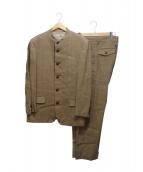 ISSEY MIYAKE MEN(イッセイ ミヤケ メン)の古着「ヘリンボーンセットアップスーツ」