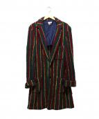 FACETASM(ファセッタズム)の古着「パイルガウンコート」