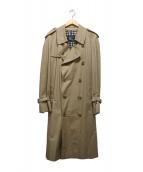 Burberrys(バーバリーズ)の古着「ノバチェックライナートレンチコート」|ベージュ