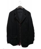 COMME des GARCONS HOMME(コムデギャルソンオム)の古着「フロントテープテーラードジャケット」