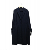 iCB(アイシービー)の古着「ナイロンストライプコート」