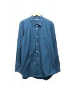 COMME des GARCONS HOMME(コムデギャルソンオム)の古着「ステッチデザインシャツ」