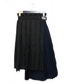 sacai(サカイ)の古着「アコーディオンプリーツスカート」