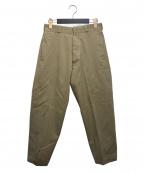 YAECA(ヤエカ)の古着「CHINO CLOTH PANTS」|ベージュ