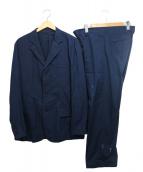 DKNY(ダナキャラン)の古着「コットンセットアップジャケット」|ネイビー