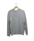 Calvin Klein platinum(カルバン・クライン プラティナム)の古着「デザインコットンニット」