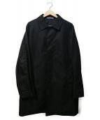 LIMITED EDITION(リミテッドエディション)の古着「ライナー付ステンカラーコート」|ブラック