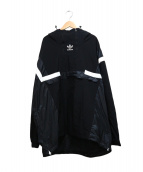 adidas originals(アディダスオリジナル)の古着「BR8 PULLOVER WINDBREAKER」|ブラック