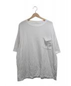 COMOLI(コモリ)の古着「ポケットTシャツ」 ホワイト