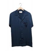 MIHARA YASUHIRO(ミハラヤスヒロ)の古着「Flower Embroidered Shirt」