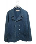 NAISSANCE(ネサーンス)の古着「Pコート」|インディゴ