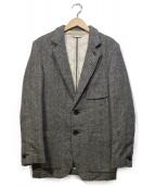 UMIT BENAN(ウミットベナン)の古着「中綿ウールツイードジャケット」|グレー