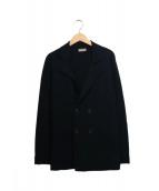 Cruciani(クルチアーニ)の古着「ニットダブルジャケット」 ブラック