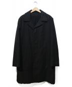 A.P.C.(アーペーセー)の古着「コットンオーバーサイズコート」|ブラック