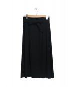 UNTITLED(アンタイトル)の古着「ベルテッドハイウエストスカート」